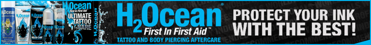 H2Ocean Tattoo Aftercare