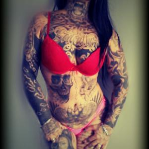 Alternative Models in der Modelkartei - geesixtattoo